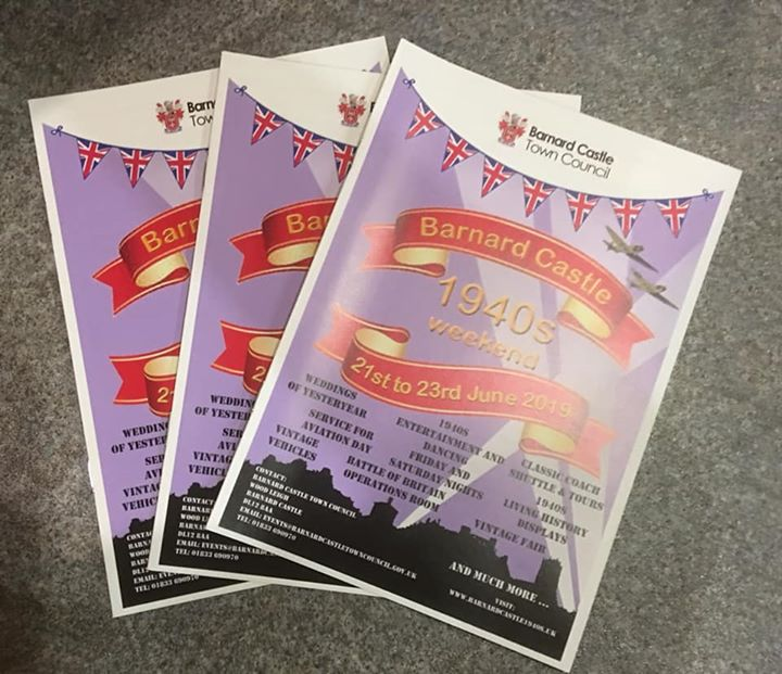 Programmes are out for the upcoming 1940s Weekend. Thes...