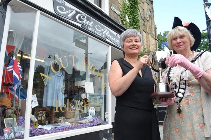 LAST YEAR'S WINNER of the Window Display Competition - ...