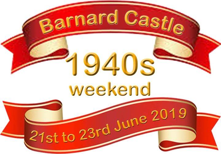 Coming up - 21-23 June Barnard Castle's 4th 1940s Weeke...