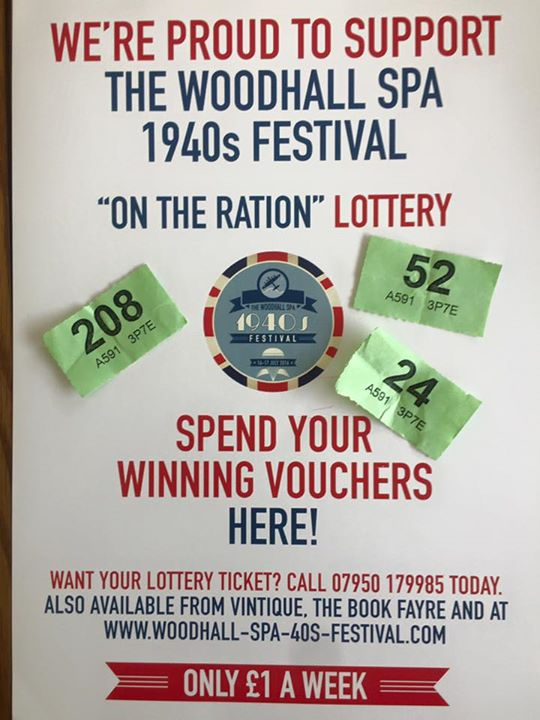 This month's On the Ration Lottery was drawn today here...