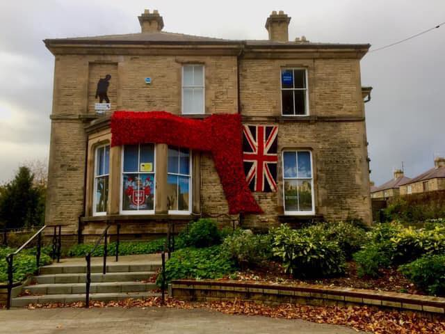 Lovely photo by Amanda Jane Ainsley - our local tribute...